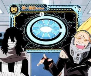 gif, anime funny, and my hero academia image
