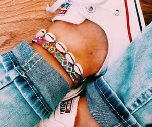 accessories, converse, and jeans image