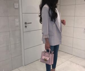 shoes bags dress, fashion outfit ootd, and hair nails make up image