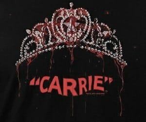 carrie, theme, and dark image
