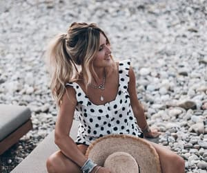 beach, blogger, and beach day image