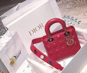 dior, bag, and handbag image