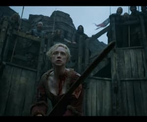 game of thrones, come at me bro, and brienne of tarth image