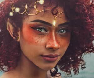 curly, elf, and fantasy image