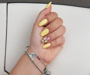 addicted, nails, and summer image