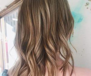 curls, hair, and haircut image