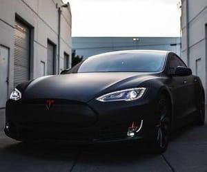 beautiful, black, and Tesla image