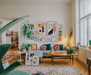 apartment, house, and living room image