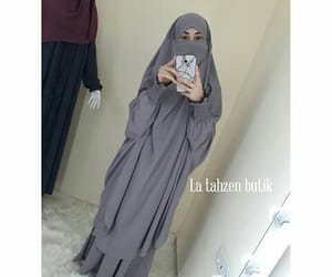 beauty, muslim women, and love image