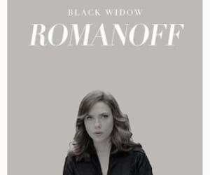 black widow, Marvel, and natasha romanoff image