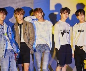 hyunjin, han, and stray kids image