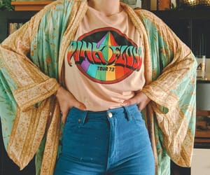 70s, Pink Floyd, and outfit image