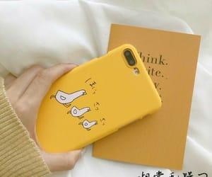 yellow, aesthetic, and apple image