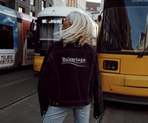 Balenciaga, balenciaga jacket, and blogger image