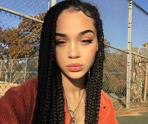 beauty, baddie, and braids image