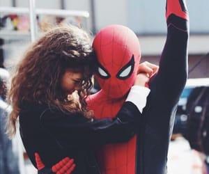 Marvel, spiderman, and zendaya image