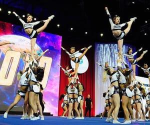 allstar, cheerleader, and team image