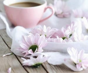 coffe, deco, and flowers image