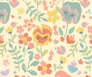 alice in wonderland, disney, and flowers image