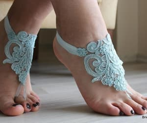 etsy, wedding shoes, and wedding anklet image