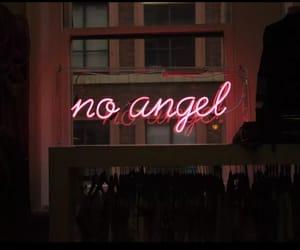neon, angel, and aesthetic image