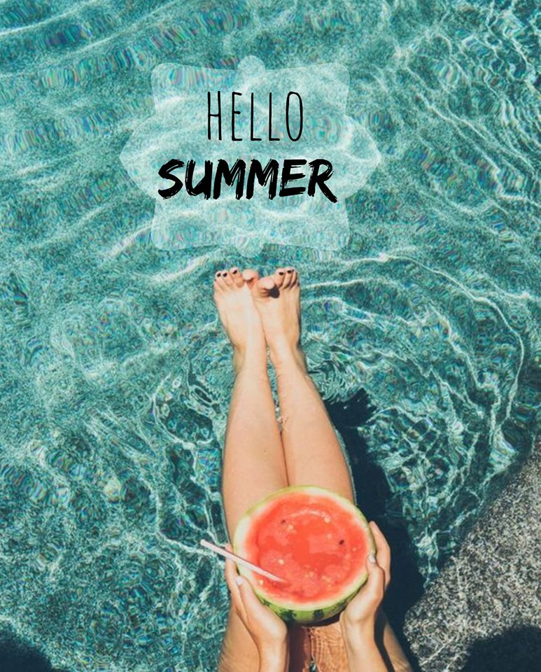 hello, summer, and welcome image