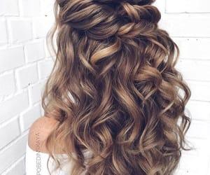beautiful, brown, and haircut image