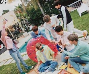 boys, kpop, and magazine image
