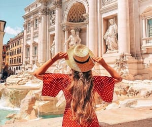 beauty, dress, and rome image