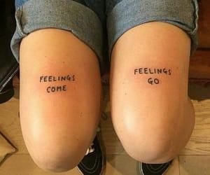tattoo, feelings, and art image