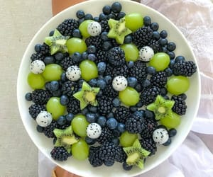 food, fruit, and beauty image