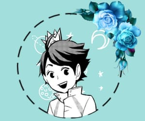black white, flower, and icons image
