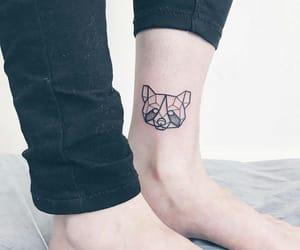 art, leg, and Tattoos image