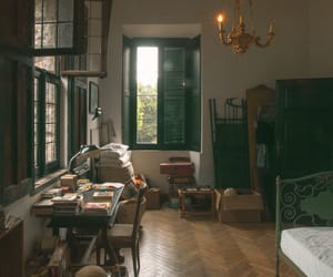 call me by your name, book, and room image