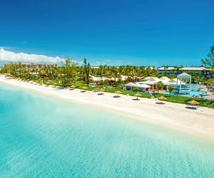 Caribbean, turks and caicos, and beach vacation image