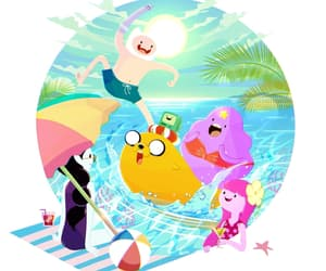 summer, adventure time, and friends image