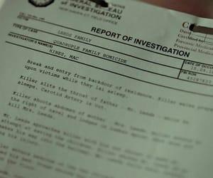 police, fbi, and investigation image