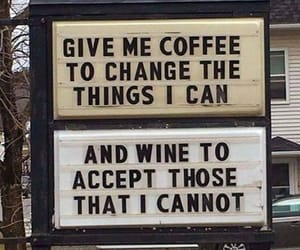 quotes, coffee, and wine image