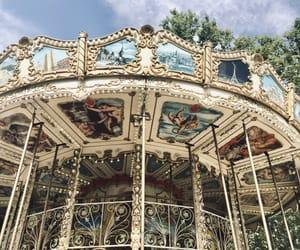 beautiful, carousel, and city image