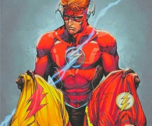 costume, rebirth, and wally west image