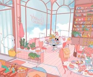 aesthetic, illustration, and cute image