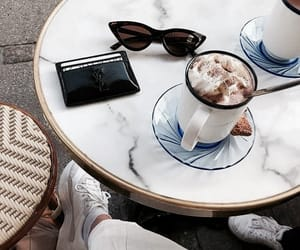 drink, coffee, and luxury image