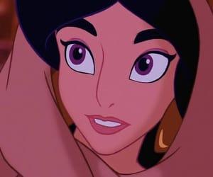 aladdin, disney, and princess jasmine image