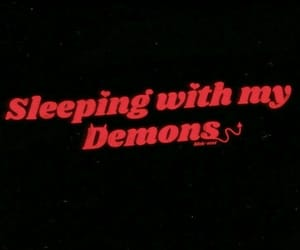 demon, red, and aesthetic image