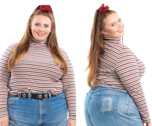 curvy, plussizefashion, and fat image