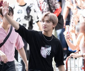 kim jungwoo, nct, and moon taeil image