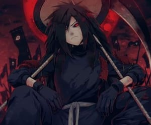 madara, naruto, and anime image