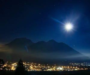 ecuador, stars, and full moon image