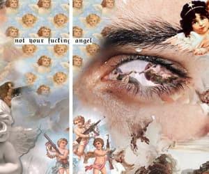 angelic, angels, and art image
