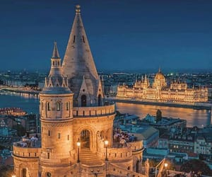 city, architecture, and hungary image